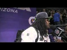Best of Marshawn Lynch Interviews Compilation - YouTube. :)