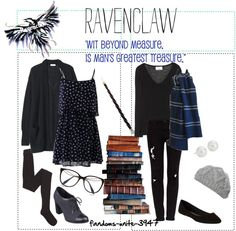 A ravenclaw outfit