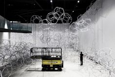 The Theory of Clouds by Tomás Saraceno