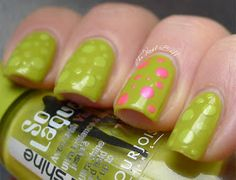 The Nail Buff: Poisonous Dots