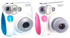 Me and my partner have these. He has blue, I have pink.  I've reviewed them in the link right there -> http://filmfunfilmfun.tumblr.com/post/32753389650/introducing-the-instax-mini-7s #instant film #instax #fujifilm #photography #camera