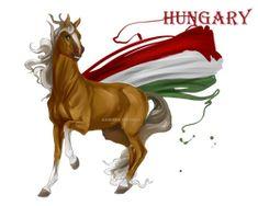 Horse Hetalia:  Hungary by MUSONART