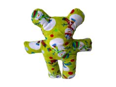 Snowman covered plush bear,beautiful gift idea for babies, or small children - unisex gift idea - pinned by pin4etsy.com