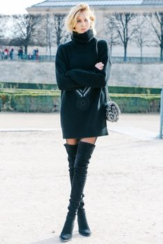 Street looks at Paris Fashion Week Fall/Winter 2015-2016
