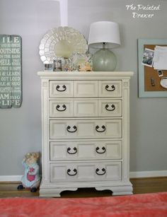 a bedroom gets a fresh look charlotte s room reveal, bedroom ideas, chalk paint, home decor, painted furniture, repurposing upcycling