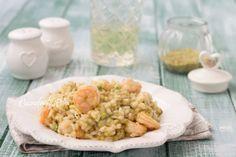Risotto pistacchi e gamberetti