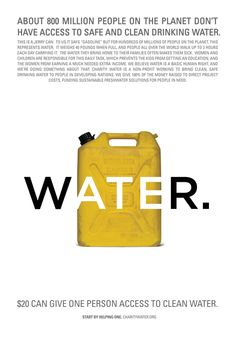 clean water | charity: water