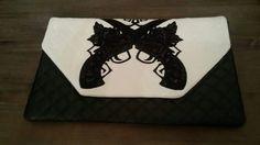 Embroidered handbag by JennyJeshko