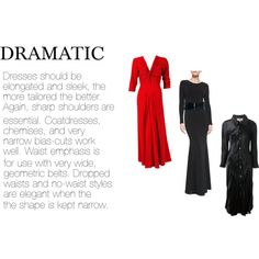 """""""dramatic dresses"""" by expressingyourtruth on Polyvore"""
