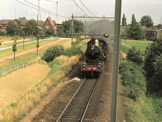 Wijchen Vader, Four Square, Holland, Trains, The Nederlands, The Netherlands, Netherlands, Train