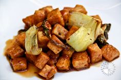 Sweet Chili Lime Tofu by vegetariangastronomy #Tofu #Chili #LIme