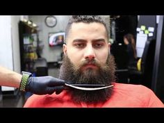 BEARD TRIM Tutorial | Get Rid of FRIZZY ENDS, TUTORIAL FOR BEGINNERS ✔️ - YouTube