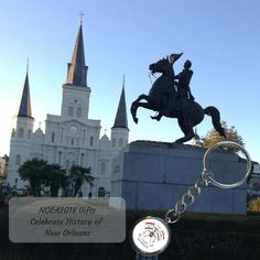 Collectible gifts for the New Orleans Tricentennial are being created! Be sure to get in on the 2018 New Orleans trend. gifts are exclusive. Customized Gifts, Statue Of Liberty, New Orleans, Cities, History, Celebrities, St Louis, Classic, Travel