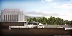 Théâtre National de Chaillot – campagne de rénovation | Hexagramm