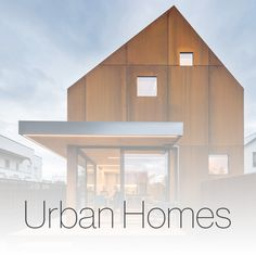 Wanting to build a relaxing home that would feel like a retreat away from the central city, the owners purchased this site in an established mixed use area of Christchurch Central. Mixed Use, Central City, Modern Barn, Contemporary Architecture, Urban, Building, Outdoor Decor, House Ideas, Homes