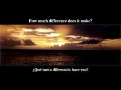 Pearl Jam - Indifference + letra en español e inglés https://www.youtube.com/watch?v=tZL3tCP4UC0&index=2&list=PLFEE6CD29570989D7