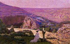 Panorama of Aragon, 1912 - Antonio Muñoz Degrain (1840-1924)