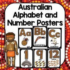 Australia Aboriginal Alphabet and Number Display Posters Aboriginal Art Symbols, Aboriginal Art For Kids, Aboriginal Education, Indigenous Education, Aboriginal Culture, Indigenous Australian Art, Indigenous Art, Naidoc Week Activities, Literacy Day