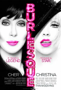 'Burlesque' - Cher Stanley Tucci, Christina Aguilera Cam Gigandet and also featuring Peter Gallagher Eric Dane. Film Burlesque, Burlesque Theme, Burlesque Makeup, Film Music Books, Music Tv, Musical Film, Scary Stories, Chick Flicks