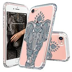 Mosnovo Mint Henna Elephant iPhone 7 Case Collection ☞ http://amzn.to/2gDGDLg  #Mosnovo
