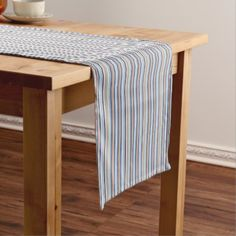 Pyjama Stripe Short Table Runner - kitchen gifts diy ideas decor special unique individual customized