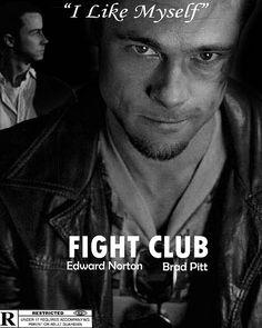 brad pitt movie posters | Movie Poster - Fight Club | Flickr - Photo Sharing!