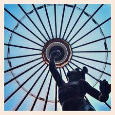 Pilares del cielo Ferris Wheel, Fair Grounds, Travel, Instagram, Sky, Viajes, Trips, Tourism, Traveling