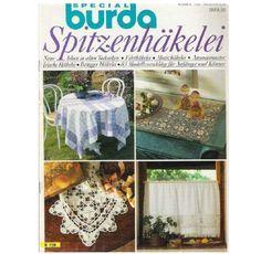Альбом«Burda special E159/1988 Spitzenhäkelei». Обсуждение на LiveInternet - Российский Сервис Онлайн-Дневников