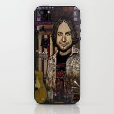 "Ray Stephenson ""Gunned Down in Mexico"" iPhone & iPod Skin by Ray Stephenson - $15.00"