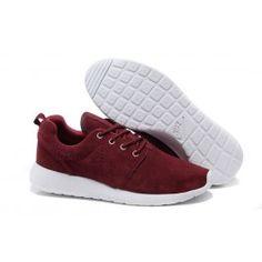 e0dfba788ccfc cheap Nike Roshe Run Reddish-Brown - White on sale