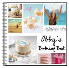 """Abby's Birthday Book // Read D"" by kickitap ❤ liked on Polyvore featuring art"