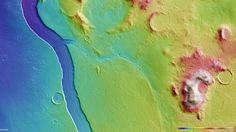 Scientists Discover Spectacular Ancient River on Mars