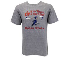 Tee Oh The Places Boise State | Boise State Bronco Shop