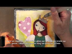 Art Canvas with Suzi Blu and Faber-Castell