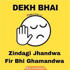 Dekh bhai trolls by www.ekknumber.com