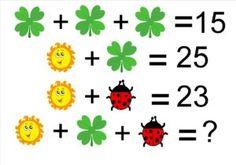 Rubicon-like Puzzle – Best Puzzles, Games, Ideas & Math Quizzes, Logic Math, Math Worksheets, Math Games, Reto Mental, Waldorf Math, Math Genius, Math Enrichment, Math Talk