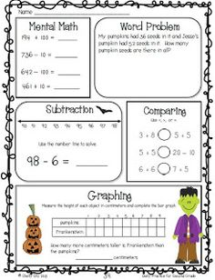 Printables Daily Math Practice Worksheets christmas worksheets teaching and word problems on pinterest october daily practice freebie click preview for great math review