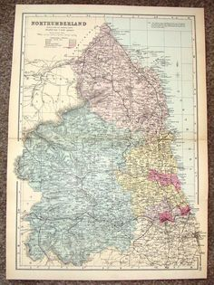 Fine chromolithographed map published by G. Bacon & Co. from about The map is in very good condition. The image is 17 x on a sheet that is 18 x Blank on verso. BUY 5 OR European History, World History, Ancient History, Maps Design, England Map, Global Map, Magna Carta, Wall Maps, Historical Maps