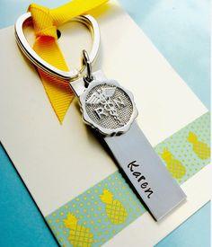 Nurse Gift,Nurse Keychain, RN,Hand Stamped Keychain, Personalized Keychain, Nurse Key Ring, Nurse Gift, Nursing Graduation,Personalized Nur