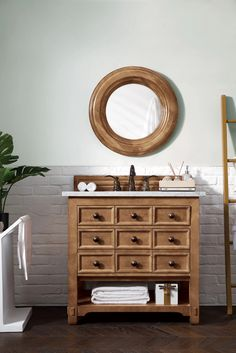 "36"" Malibu Honey Alder Single Sink Bathroom Vanity – VANITIES EXPO"
