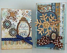 Snowfall Cards @Sarah Eclavea #bobunny