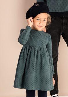ANDREANNE ls - Robe fille - My favorite children's fashion list Little Girl Fashion, Toddler Fashion, Kids Fashion, Winter Fashion, Little Girl Dresses, Girls Dresses, Fitted Dresses, Dresses Dresses, Baby Dress