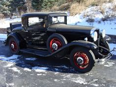 1931 Hupmobile Century Eight Coupe