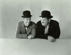 Laurel and Hardy - Classic Photo Comedy Duos, Comedy Films, Laurel Und Hardy, Stan Laurel, Sound Film, Great Comedies, Classic Comics, Silent Film, Tv On The Radio
