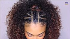 Top Braided & Curly Crown Princess Hairstyle