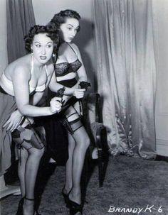Girls and Guns  Vintage