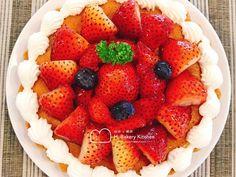 草莓杏仁派