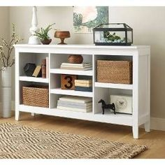 Carson Horizontal Bookcase with Adjustable Shelves - Chestnut - Threshold™ : Target