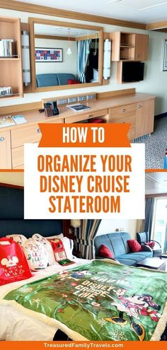 Worried about cabin space on your Disney cruise? Read these Disney Cruise stateroom organization tips before you go to master the art of keeping your cabin neat and organized. #Disney #Cruise #DisneyCruise #CruiseTips Disney Go, Disney Cruise Tips, Best Cruise, Disney Dream, Disney Travel, Disney Cruise Door, Disney Bound, Disney Magic, Cruise Travel