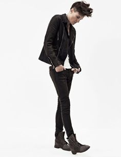 Former Olympic swimmer Casey Legler is taking the modelling world by storm as the first female to sign a contract with a major agency for only male modelling work